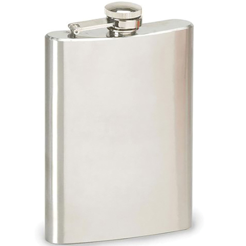Liberty Mountain 8 Oz Stainless Steel Hip Flask
