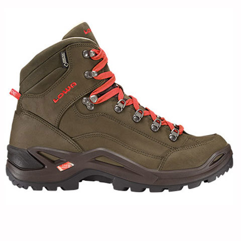 Lowa Renegade Pro GTX Mid Hiking Boots Brown/red 12.0