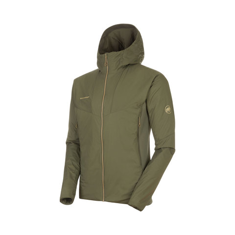 Mammut Rime IN Flex Hooded Jacket Iguana Md