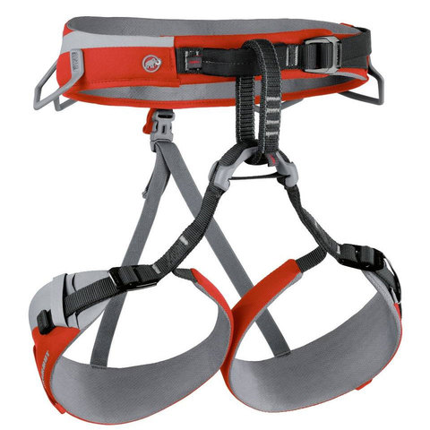 Mammut Togira Slide Harness - Womens Highway/barberry Sm