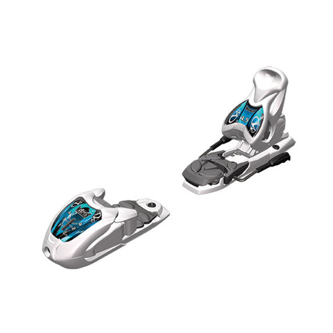 Marker 4.5 EPS Ski Bindings - Junior's White/anth/blue 74mm