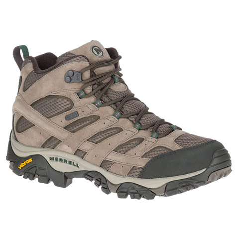 Merrell Moab 2 Mid Waterproof Boots Boulder 13.0