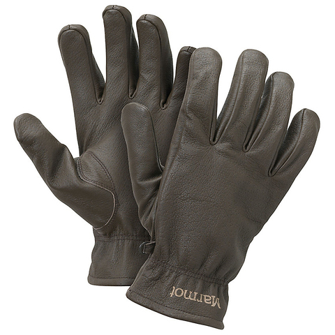 Marmot Basic Work Glove Dark Brown Md