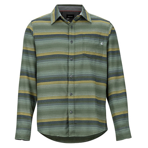 Marmot Fairfax Midweight Flannel Long-Sleeve Shirt Golden Leaf Xl