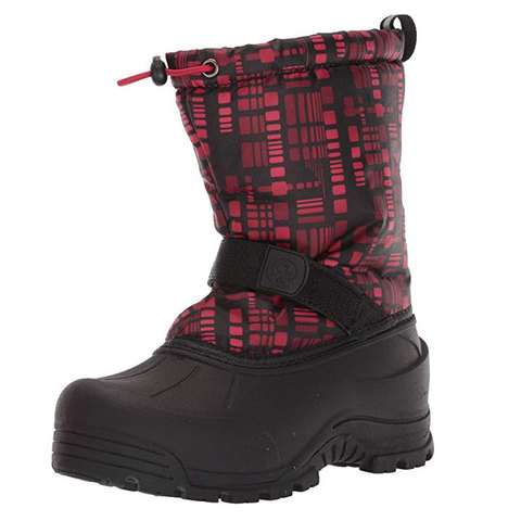 USOutDoor.com - Northside Frosty Snow Boot – Boys Charcoal/red 6 31.95 USD