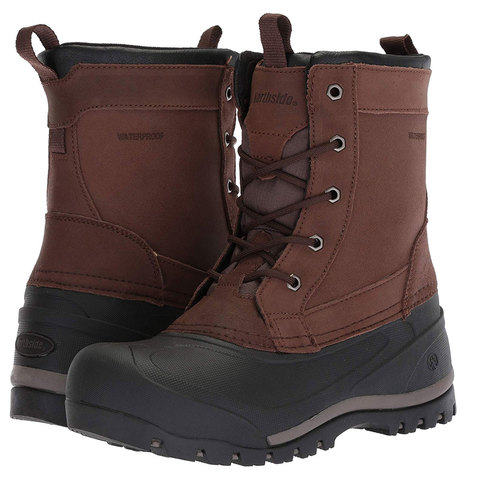 Northside Freestone Polar Snow Boot Root Beer 10.0