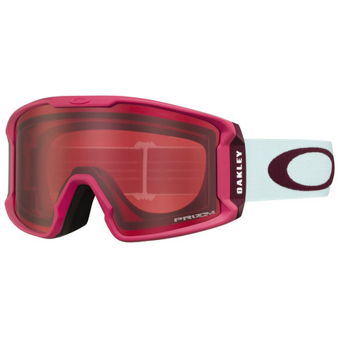 Oakley Line Miner XM Goggles Strong Red Jasmine/prizm Rose N/a
