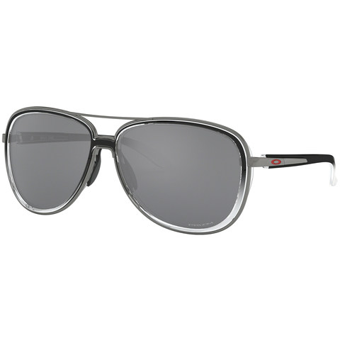Oakley Split Time Sunglasses Black Clear/prizm Black
