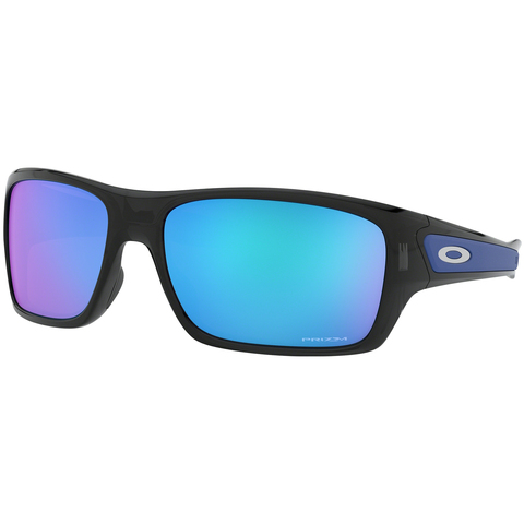 Oakley Turbine Polarized Sunglasses Black Ink/prizm Sapphire