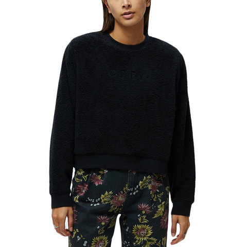 Obey Miley Crewneck - Women's