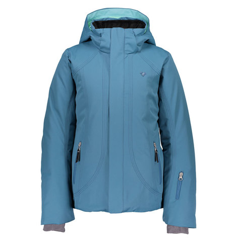 Obermeyer Haana Jacket - Girl's Slate the Facts Sm