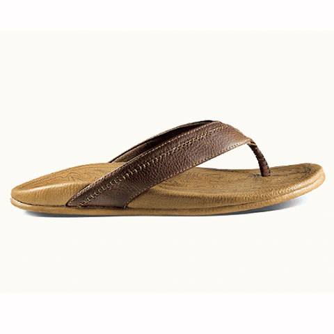 Olukai Hiapo Sandals - Men's Dk Java / Toffee