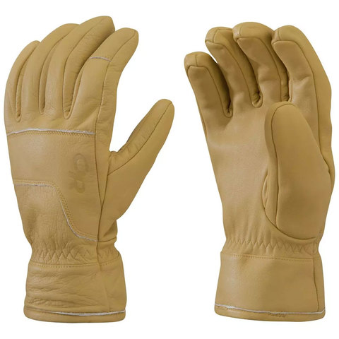 Outdoor Research Aksel Work Gloves Natural Sm