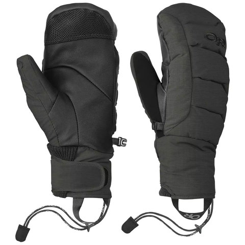 Outdoor Research Stormbound Mitts - Women's Black Sm