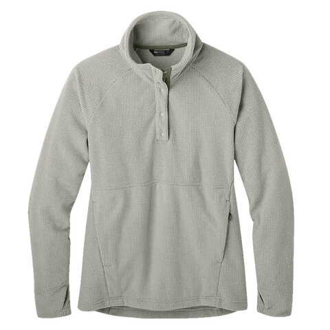 https://www.usoutdoor.com - Outdoor Research Trail Mix Snap Pullover – Women's Sand Lg