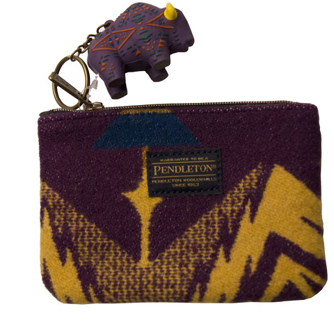 Pendleton Echo Peaks Zip Pouch With Key Chain
