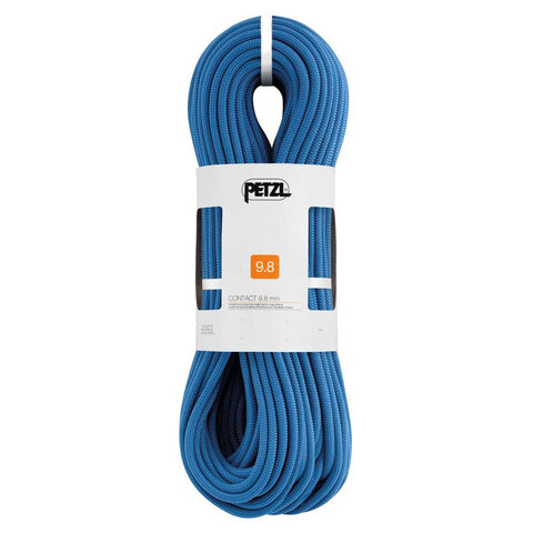 USOutDoor.com - Petzl Contact Rope Blue 9.8mm/9m 239.95 USD