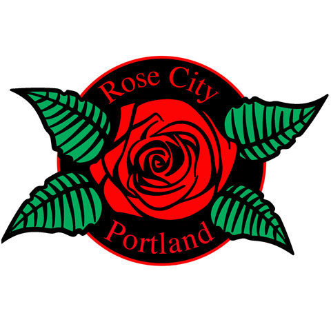 Portland Rose Collector's Pin