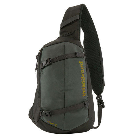 Patagonia Atom Sling 8L Bag Forge Grey/textile Green All
