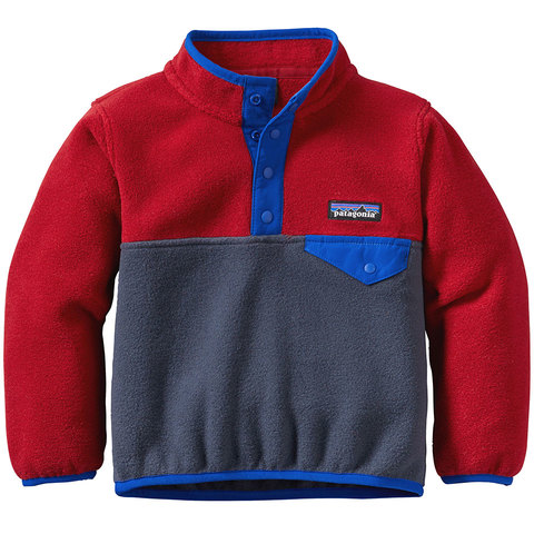 Patagonia Baby Lightweight Synchilla Snap-T Pullover - Toddler