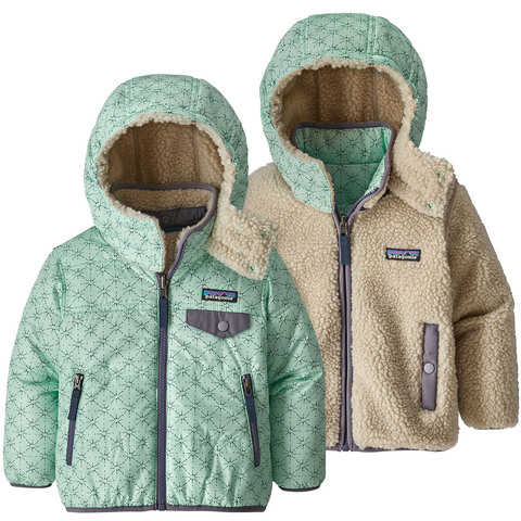 Patagonia Baby Reversible Tribbles Hoody - Toddler