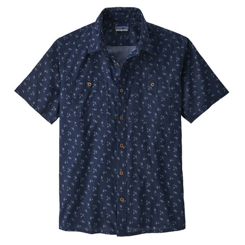 Patagonia Back Step Shirt Atnn Sm