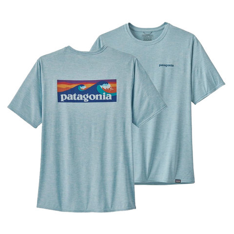 Patagonia Capilene® Cool Daily Graphic Shirt Big Sky Blue Md