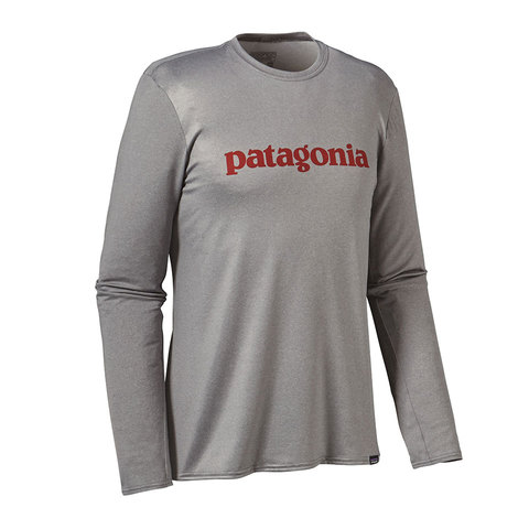 Patagonia Long Sleeved Capilene Daily Graphic T-Shirt - Men's