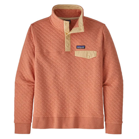 Patagonia Organic Cotton Quilt Snap-T® Pullover - Women's Mellow Melon
