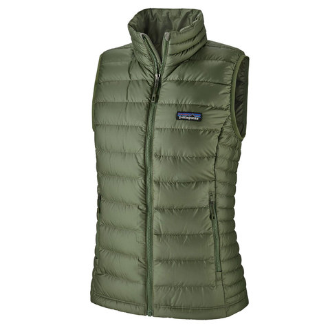 Patagonia Down Sweater Vest - Women's Camp Green Sm