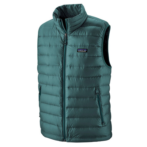 USOutDoor.com - Patagonia Down Sweater Vest Tasmanian Teal Xl 178.95 USD