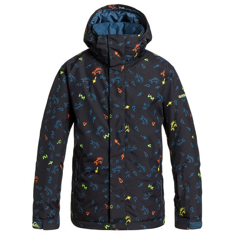 Quiksilver Boys Mission Print Jacket - Kids