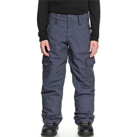 Quiksilver Porter Denim Snow Pants - Boys'