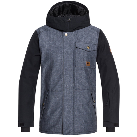 Quiksilver 8 - 16 Ridge Snow Jacket - Boy's
