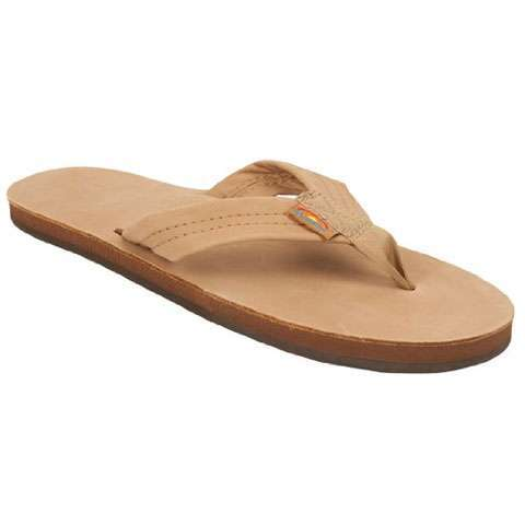 Rainbow Premier Leather Single Layer Sandal - Women's Sierra Brown