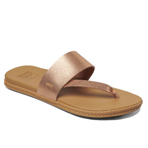 Reef Cushion Sol Sandals Rose Gold 9.0