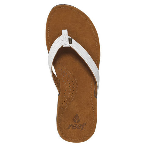 Reef Miss J-Bay Sandals - Women's Tan/white