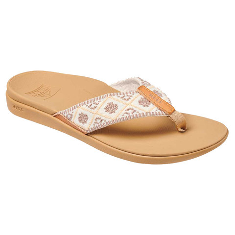 Reef Ortho-Bounce Woven Sandals - Women's Vintage White 7.0