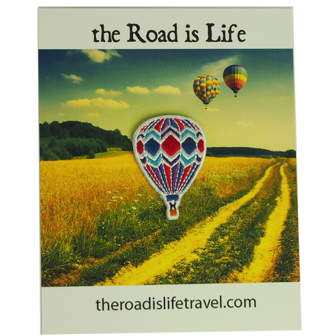 The Road Is Life Balloon Patch