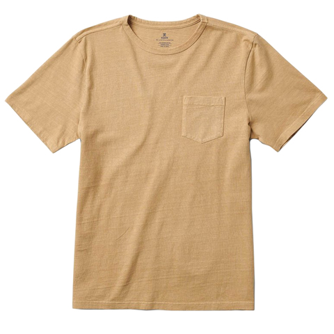 Roark Well Worn Heavyweight Knit Shirt - Men's Khaki Md