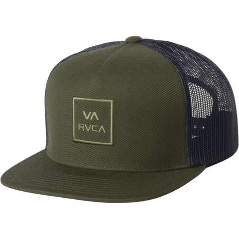 new product 4381e d0179 ... switzerland rvca va all the way trucker hat iii usoutdoor 99747 a0f9e