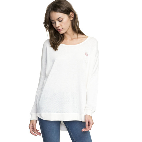 RVCA Have A Nice Day Lightweight Pullover - Women's