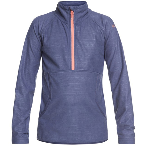 Roxy Girl's 7-14 Cascade Technical Half-Zip Fleece - Kid's