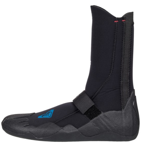 Roxy Syncro 5 mm Round Toe Surf Booties Black 5