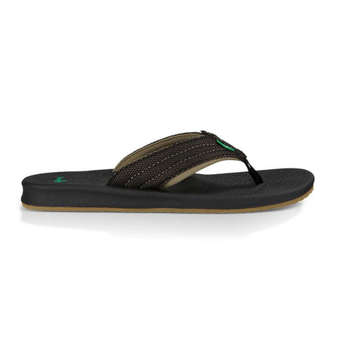 Sanuk Brumeister Mesh Sandals Black/fatigue