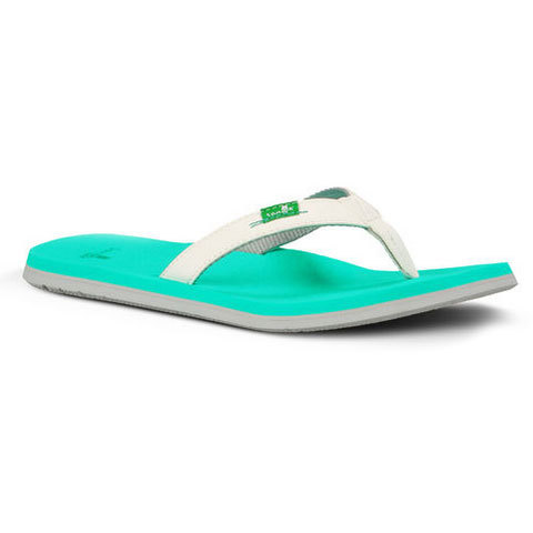 Sanuk On The Rocks Sandals - Women's White / Seafoam