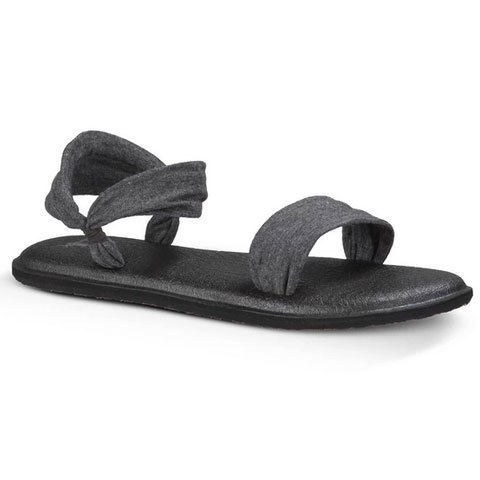 Sanuk Yoga Duet Sandals - Women's Charcoal