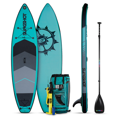 Slingshot Crossbreed Airtech SUP Package