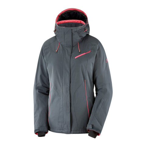 Salomon Fantasy Jacket - Women's Ebony Heather Xs