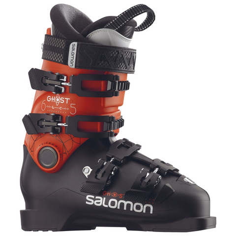 Salomon Ghost LC 65 Boot - Kid's Black / Orange 24.5
